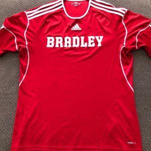 Men's Adidas Bradley University Shirt